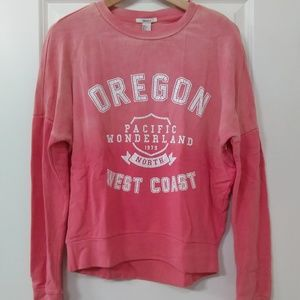 Forever 21 Oregon Sweatshirt Size Small